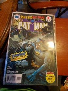 Retroactive batman #1
