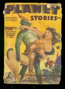 PLANET STORIES-WINT 1945-AC HOLLINGSWORTH INTERIOR ART FR/G