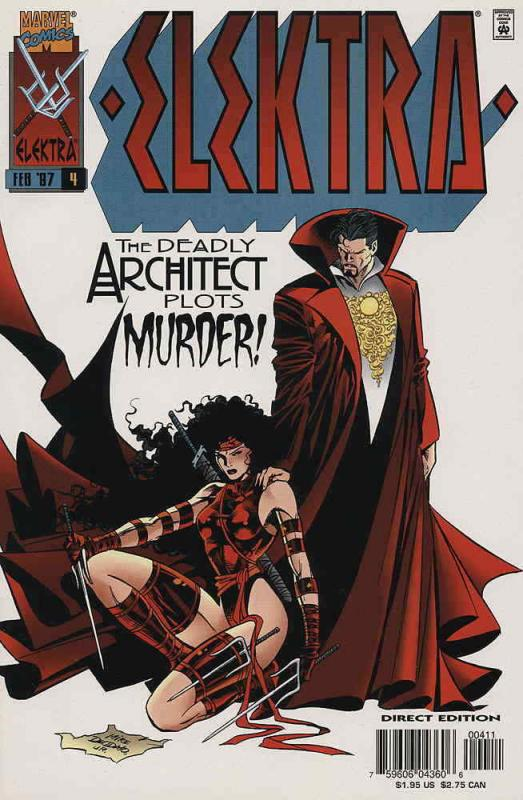 Elektra (2nd Series) #4 FN; Marvel | save on shipping - details inside