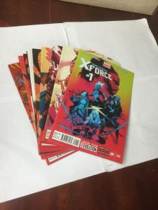 Uncanny X-Force 1 2 3 4 5 6 7 8 9 10 11 12 13 14 All Nm Near Mint