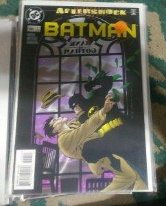 Batman #556 1998 DC comics aftershock pt 1 gotham robin nightwing alfred