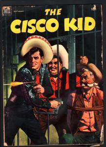CISCO KID COMICS #10-JAIL BREAK COVER-1952-Good condition-DELL G