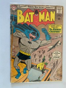 Batman #162 1.5 FR GD cover detached at one staple (1964)