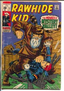 Rawhide Kid #72 1968-Marvel-Larry Leiber-western action-VG