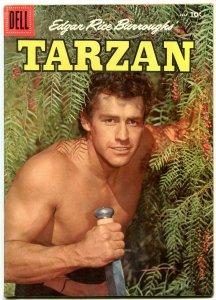 Tarzan Comics #82 1956- Gordon Scott photo cover- Dell Comics VF-