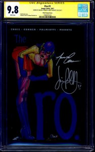 Pro #1 METAL EDITION CGC SS 9.8 signed x2 Amanda Conner Jimmy Palmiotti 1 of 50