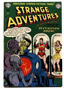 STRANGE ADVENRURES #14 comic book-1951-DC-CAPT COMET-ROBOT COVER fn+