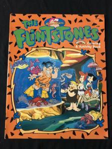 Flintstones Coloring and Activity Book Orange cover