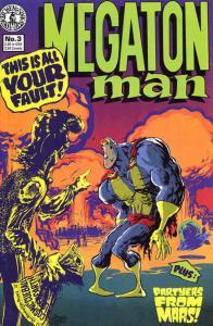 Megaton Man #3 VF/NM; Kitchen Sink | save on shipping - details inside