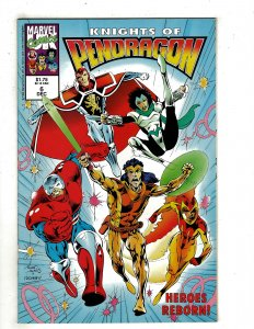 Knights of Pendragon (UK) #6 (1992) YY4