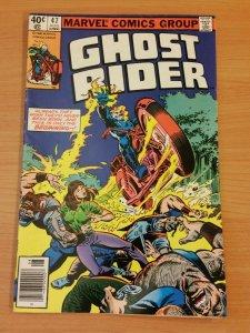 Ghost Rider #47 ~ FINE - VERY FINE VF ~ 1980 MARVEL COMICS