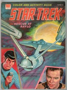 Star Trek Color and Activity Book #1250-4 1978-Kirk-Spock-Rescue At Raylo-FN
