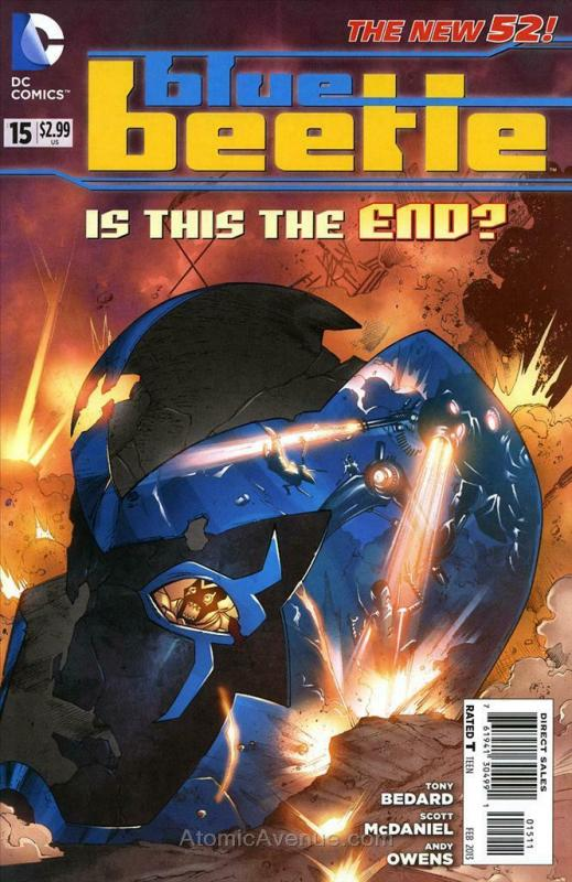 Blue Beetle (5th Series) #15 VF/NM; DC | save on shipping - details inside