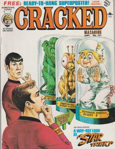 CRACKED #127 - HUMOR COMIC MAGAZINE