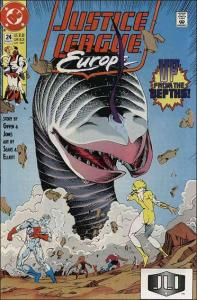 DC JUSTICE LEAGUE EUROPE #24 VF