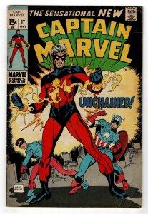 Captain Marvel 17   1st new Captain Marvel (New costume)
