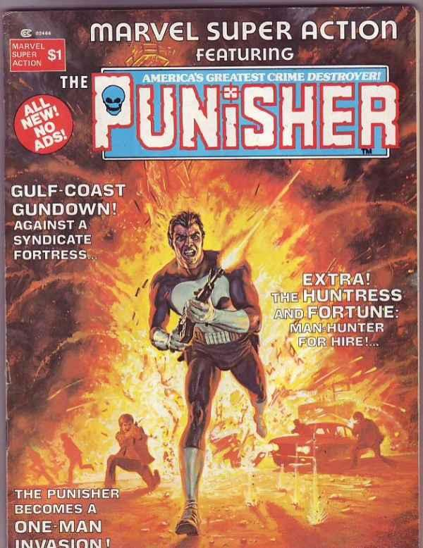 Marvel Super Action Magazine #1 (Jan-76) FN/VF+ Mid-High-Grade The Punisher