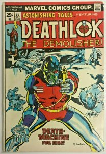 ASTONISHING TALES#26 VG/FN 1974 DEATHLOK MARVEL BRONZE AGE COMICS