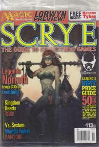 Scrye #113 (in bag) VF/NM; Scrye | save on shipping - details inside