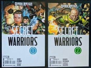 DARK REIGN: SECRET WARRIORS #1 & #2! NM!!