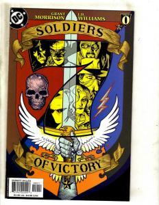 9 Comics Soldiers Victory #1 Shining Knight 1 2 3 4 + Manhattan Guardian 1-4 CJ6