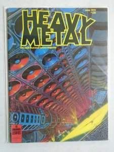 Heavy Metal Magazine Volume 3 #2 4.0 VG (1979 HM Communications)