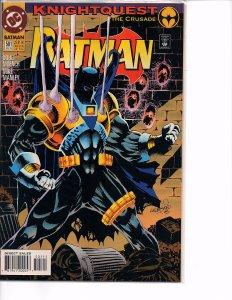 DC Comics Batman #501 KnightQuest The Crusade