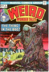 WEIRD WONDER TALES 3 VF April 1974 COMICS BOOK
