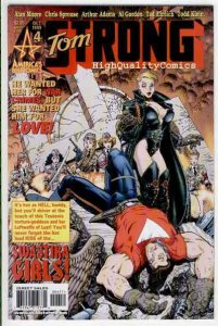 TOM STRONG #4, NM+, Alan Moore,Chirs Sprouse, Art Adams