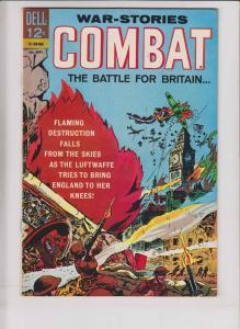 Combat #17 VF- september 1965 - battle for britain - big ben cover - war stories