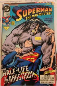 Superman the Man of Steel 4 NM