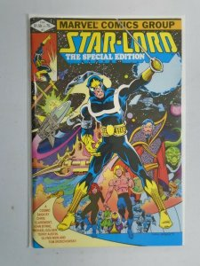 Starlord the Special Edition #1 6.0 FN (1982)