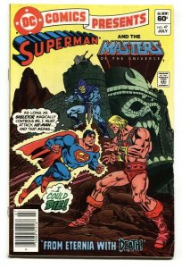 DC Comics Presents #47 First appearance of He-man-superman-1982-FN+