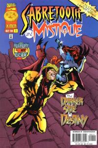 Mystique & Sabretooth #1, NM (Stock photo)