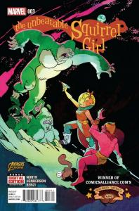 UNBEATABLE SQUIRREL GIRL (2014 MARVEL) #3 NM- AF8SCL