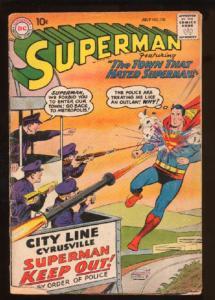 Superman (1939 series) #130, Good- (Actual scan)