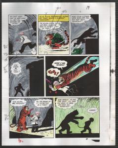 Hand Painted Color Guide-Capt Marvel-Shazam-C35-1975-DC-page 19-Mr Tawney-VG/FN