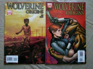 Wolverine Origins #10 1st Daken App #9 Black Widow two comic Variant Set 2007