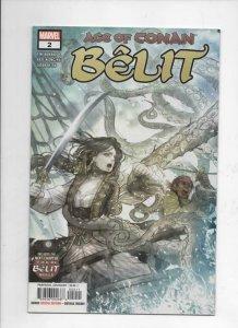 BELIT, AGE of CONAN #2, VF, Howard, 2019, more Marvel in store