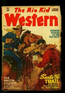 The Rio Kid Western April 1948- Thrilling Pulp-Tom Curry- VG