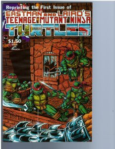 Teenage Mutant Ninja Turtles #1 (1985) 4th Print NM