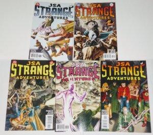JSA Strange Adventures Comic Lot of (5) DC Comics ID#B5-002