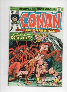 CONAN the BARBARIAN #45 FN, Buscema, Howard, 1970 1974, Demon