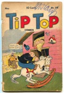 Tip Top #118 1946- Triple Terror- Captain & the Kids G