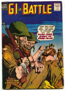 G.I. In Battle #3 1957-men in drag story- Korean War VG