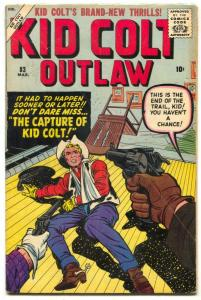Kid Colt Outlaw #83 1959- Jack Kirby cover- Western VG/F