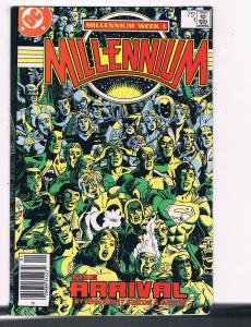Millennium #1 VG/FN DC Millennium Week One Comic Book DE5