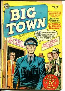 Big Town #30 1954-DC-hit TV series-pre-code crime & violence-FR