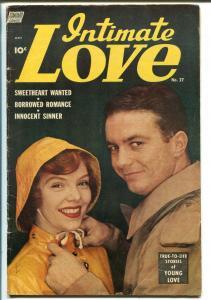 Intimate Love  #27 1954-Standard-Betty Ann Grove-outstanding art-VG