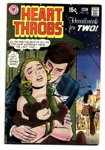 HEART THROBS #127 1970 DC-ROMANCE--CARNIVAL/FERRIS WHEEL COVER VG